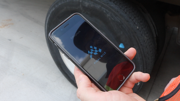 Final Mile: A Pickup and Delivery Mobile App