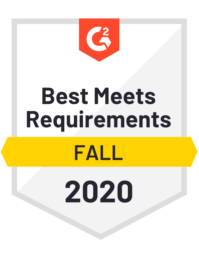 G2 Best Meets Requirements Freight Management System