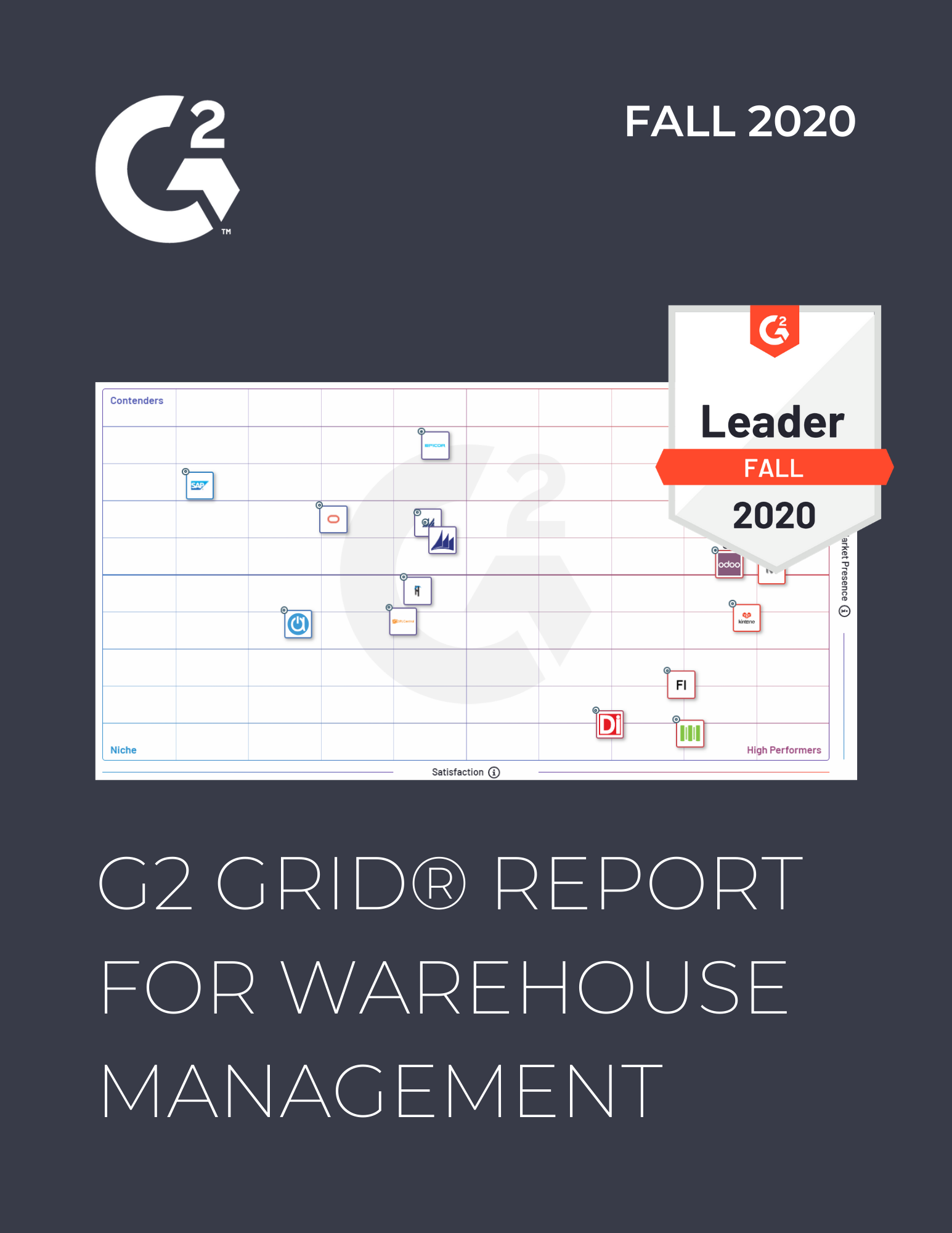 G2 WMS Leader Fall 2020 Cover Image - Warehouse Management